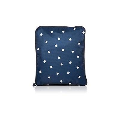 ハピタス 折りたたみボストンバッグ(中型) H0002 シフレ 豊富な柄 コンパクト 401かくれんぼネコネイビー