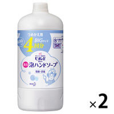 花王ビオレu 泡ハンドソープ 詰替800ml ×2個