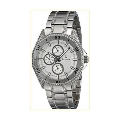 Bulova Men's 96C110 Crystal Multifunction Watch 並行輸入品