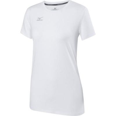 ミズノ Mizuno レディース Tシャツ トップス Volleyball Attack T-Shirt 2.0 White