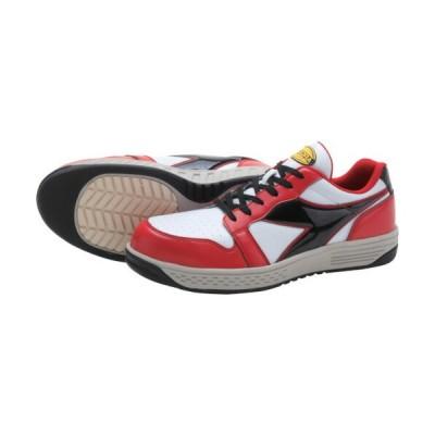 ドンケル(株) ディアドラ 安全作業靴 グレーブ  レッド/ホワイト/ブラック 26.0cm GR312260                       (1229977)