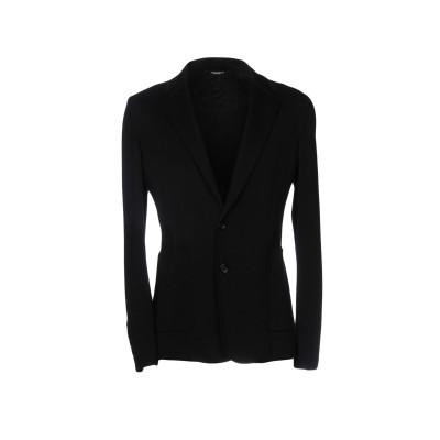 ドルチェ & ガッバーナ DOLCE & GABBANA テーラードジャケット ブラック 48 コットン 100% テーラードジャケット