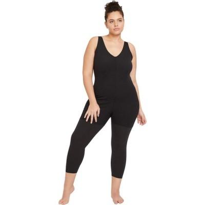 ナイキ Nike レディース オールインワン ジャンプスーツ ワンピース・ドレス NY Luxe Layered 7/8 Jumpsuit Black/Dark Smoke Grey