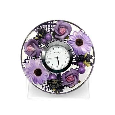 Dreamlight?ドリームクロックUFOミニ 時計セット(台付き)ファッションフラワー CDD7279CL