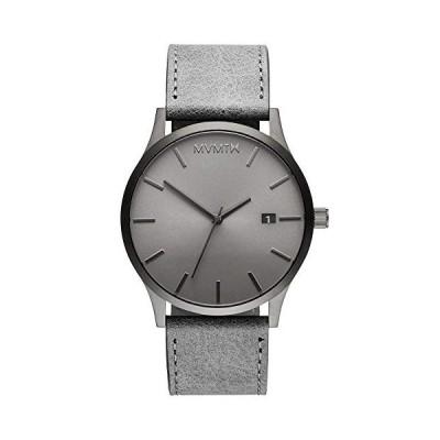 MVMT Mens Analogue Quartz Watch with Leather Calfskin Strap D-MM01-GRGR 並行輸入品