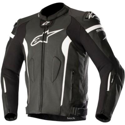 【メーカー在庫あり】 8033637010687 アルパインスターズ Alpinestars 春夏モデル レザージャケット MISSILE TECH-AIR 黒/白 54サイズ JP店