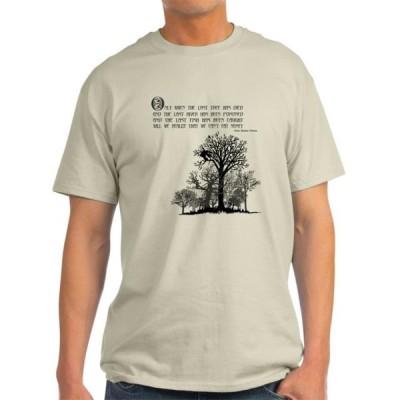 ユニセックス 衣類 トップス CafePress - Native American Proverb - Light T-Shirt - CP Tシャツ