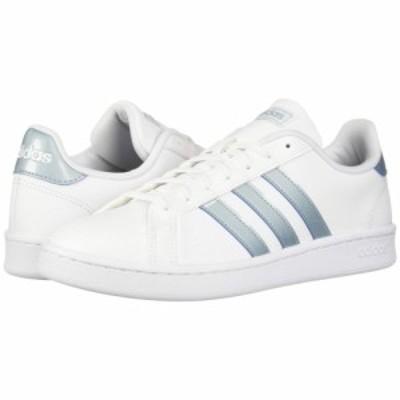 アディダス adidas レディース スニーカー シューズ・靴 Grand Court White/Ash Grey/Light Granite