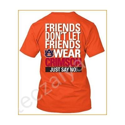 NCAA Friends Don't Let Friends Wear T Shirts - Up to 2X and 3X (Auburn Tigers, Medium)並行輸入品