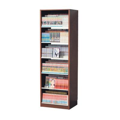 トリプル棚板のコミックラック・本棚