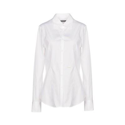 ディースクエアード DSQUARED2 シャツ ホワイト 44 コットン 97% / ポリウレタン 3% シャツ