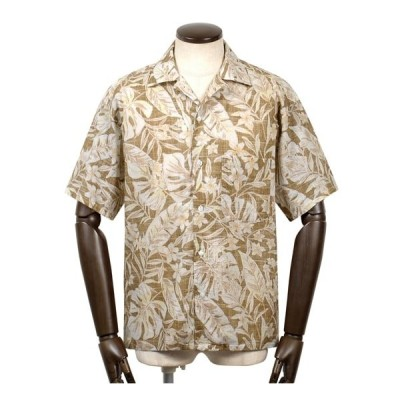 【SALE】バルバ ダンディライフ BARBA DANDYLIFE / 【国内正規品】 / コットンローンボタニカルプリント半袖オープンカラーシャツ「PB OVER」