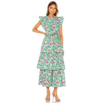 バンジャナン Banjanan レディース ワンピース ワンピース・ドレス Adriana Dress Tulip Bird Lilac Sachet