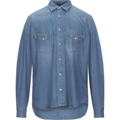 ティントリア マッティ TINTORIA MATTEI 954 メンズ シャツ デニム トップス Denim Shirt Blue