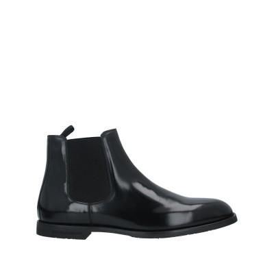 ドルチェ & ガッバーナ DOLCE & GABBANA ショートブーツ ブラック 5 牛革(カーフ) 55% / ポリエステル 30% / ポリウ