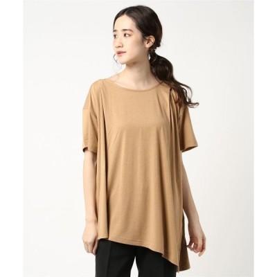 tシャツ Tシャツ ティゴラ デザインチュニックTシャツ(半袖)