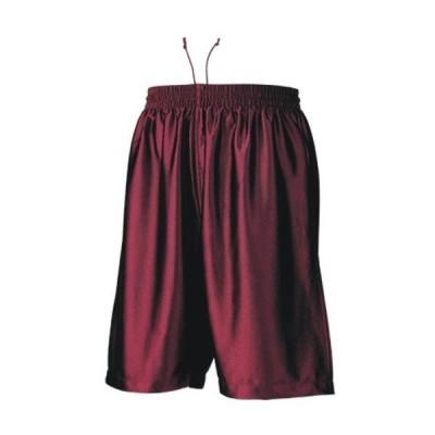 バスケットボール パンツ ハーフパンツ バーガンディ 110〜150