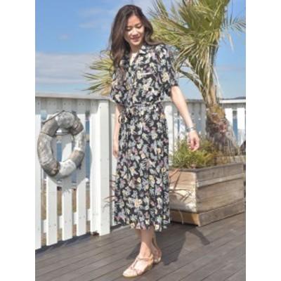 【SALE】Kahiko 公式 《ボタチャプワンピース》 カヒコ ハワイアン  ファッション ワンピース 4IA-0217