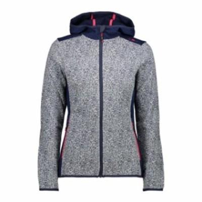 cmp シーエムピー アウトドア 女性用ウェア フリース cmp woman-fix-hood-jacket