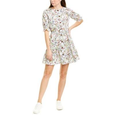 サローニ ワンピース トップス レディース Saloni Billie Shirtdress white wildflower