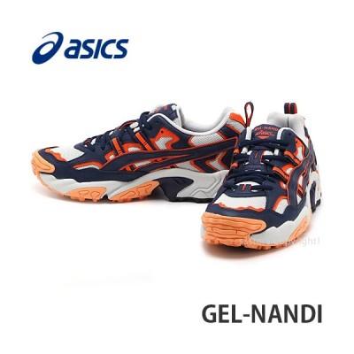アシックス ゲル ナンダイ asics GEL-NANDI スニーカー シューズ 靴 メンズ トレイル ストリート ファッション カラー:GlcrGrey/Pct