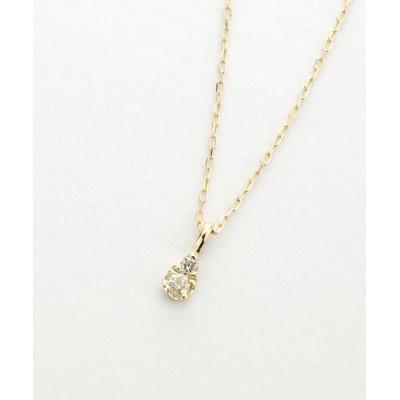 L&Co. / K10 Diamond Necklace WOMEN アクセサリー > ネックレス