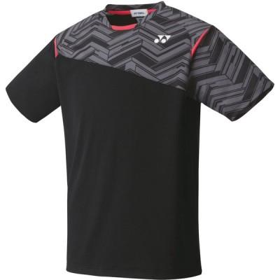 Yonex ヨネックス ユニゲームシャツ(フィットスタイル) ブラック 10366-007 テニス