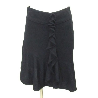 ブルマリン blumarine 黒 スカート 38