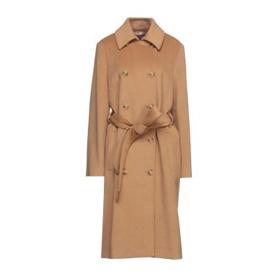 トラサルディ ジーンズ TRUSSARDI JEANS コート キャメル 46 ウール 52% / ポリエステル 48% コート
