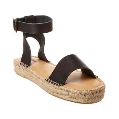 ソルドス サンダル シューズ レディース Soludos Cadiz Leather Sandal black leather