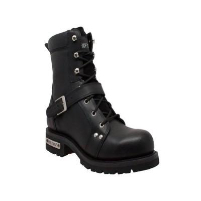 アドテック メンズ ブーツ・レインブーツ シューズ Men's 8 Zipper Lace Boot