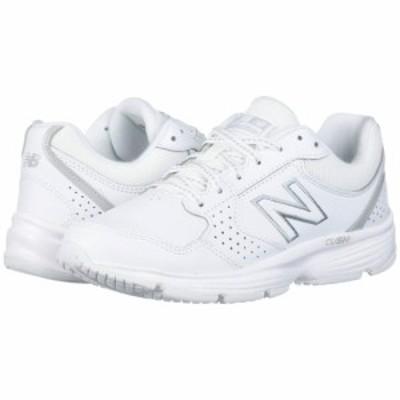 ニューバランス New Balance レディース スニーカー シューズ・靴 411 White/White