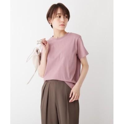OPAQUE.CLIP(オペークドットクリップ) スペシャルコットン 天竺クルーネックTシャツ