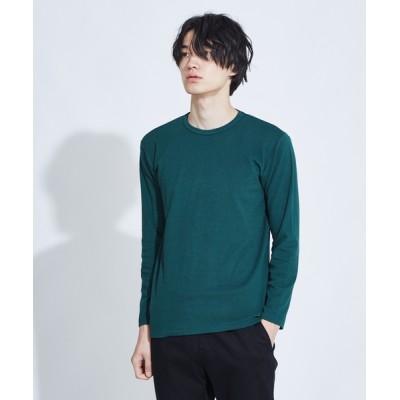 ABAHOUSE / 【展開店舗限定】ストレッチタックフライスロングスリーブTシャツ MEN トップス > Tシャツ/カットソー