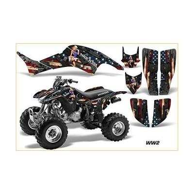 AMR Racing Graphicsキットfor ATVホンダ400?TRX / EX 1999???2007?ATV ww2 グラフィックキット  並行輸入品