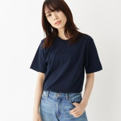 オペークドットクリップ(OPAQUE.CLIP)/ゆったりシルエットロングTシャツ