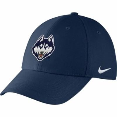 ナイキ Nike メンズ キャップ 帽子 UConn Huskies Blue Swoosh Flex Hat