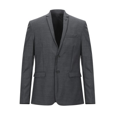 パトリツィア ペペ PATRIZIA PEPE テーラードジャケット スチールグレー 48 ポリエステル 53% / バージンウール 43% / ポ