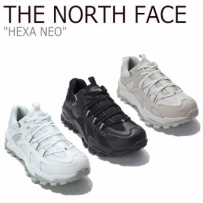 ノースフェイス スニーカー THE NORTH FACE HEXA NEO ヘキサ ネオ WHITE BLACK BEIGE ベージュ NS93L80A/B/C シューズ
