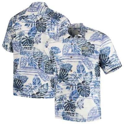 トッミーバハマ シャツ トップス メンズ UCLA Bruins Tommy Bahama Super Fan Camp Shirt Blue