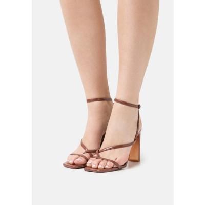 アルド レディース 靴 シューズ HAINIEL - T-bar sandals - medium red