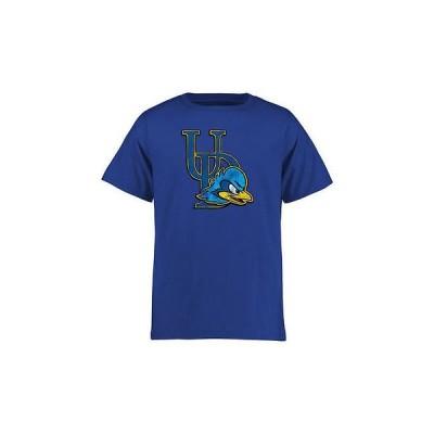 海外バイヤーおすすめ アメリカ USA カレッジ 全米 リーグ NCAA Delaware Fightin' ブルー Hens ユース ロイヤル クラシック プライマリ Tシャツ
