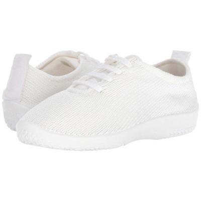 アルコペディコ オックスフォード シューズ レディース LS White/White