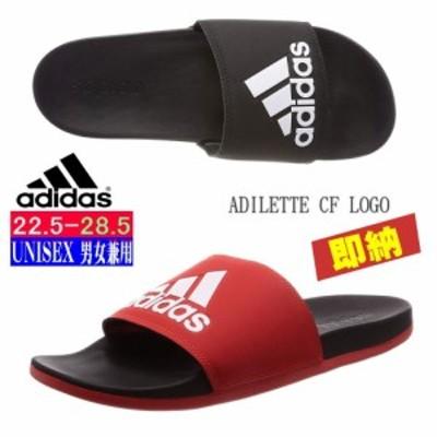 即納 22.5-28.5 adidas [アディダス][Unisex] クラウドフォーム搭載サンダル ADILETTE CF LOGO メンズ レディース サンダル CG3425 F347