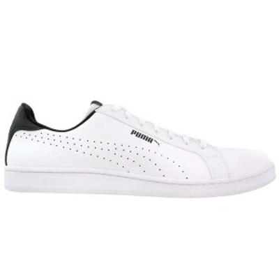 プーマ メンズ スニーカー シューズ Puma Smash Perf Lace Up Sneakers Puma White / Puma Black