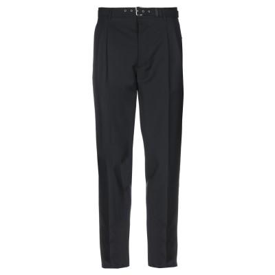 プラダ PRADA パンツ ブラック 48 ウール 84% / モヘヤ 16% パンツ