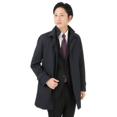スタンドカラースタイリッシュコート【合繊】