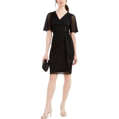 ベッツィアンドアダム Betsy & Adam レディース ワンピース ワンピース・ドレス Ruched Glamour Dress Black