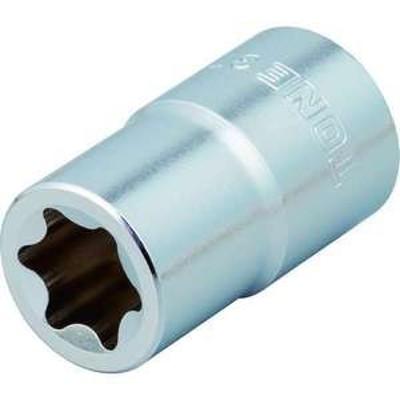 TONE E型トルクスソケット 呼びNO.E6 差込角9.5mm(品番:3TX-E06)『1249970』