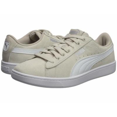 プーマ スニーカー シューズ レディース Vikky V2 Silver Gray/Puma White/Puma Silver